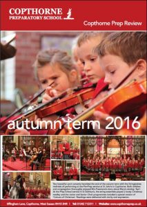 Copthorne Prep School Autumn Term 2016 Review Cover