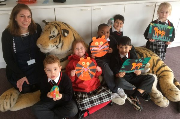 Copthorne Pre-prep Year 1 - David Shepherd Wildlife Foundation - March 2017