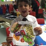 Copthorne PrePrep - Reception - Healthy Eating Plates - May 2017