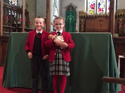 Copthorne Prep School Pre-prep Year 1 visit to St. Swithun's Church - Spring Term 2017