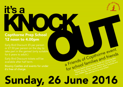 Its a knockout poster!