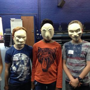 Masks and gesture 2