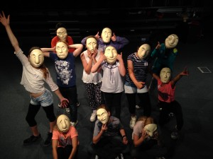 Masks and gesture 3