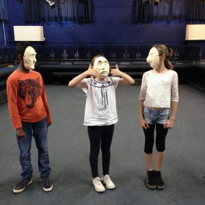 Masks and gesture 4