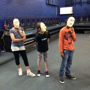 Masks and gesture_
