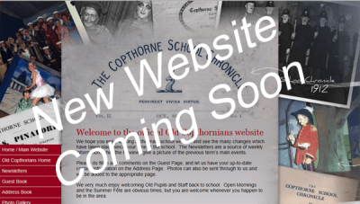 Old Copthornians Website - new