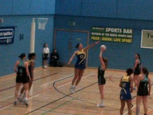 Surrey Storm Netball Outing